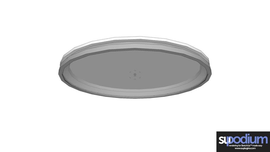 Podium Browser Poulsen AJ-Circl CL light fixture