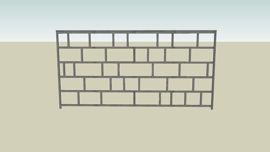 custom designed steel railing