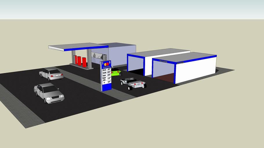 Freie SB-Tankstelle