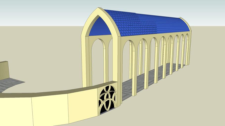 Unfinished elvish structure