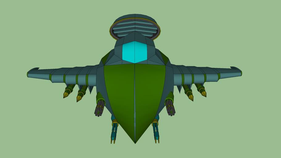 """cruiser-bomber """"Star Wind"""""""