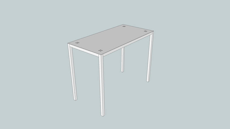 EMMESYSTEM CONSOLE TABLE