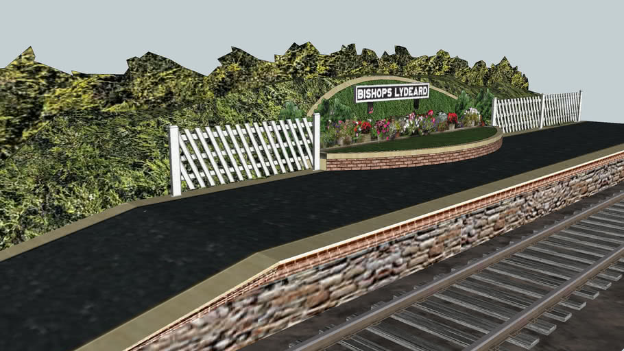 """Eco Rail Track""... ""Bishops Lydeard"".. ""Somerset!""... Old Steam Days.."