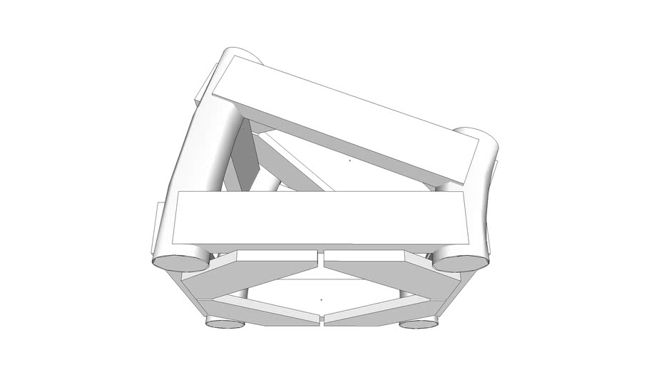 """12"""" A-Type Truss. 22.5D angle"""