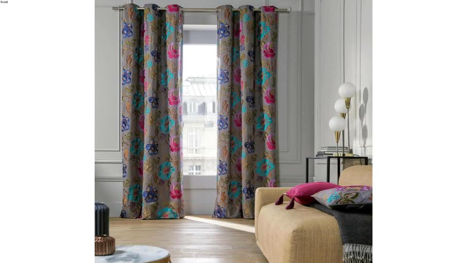 Eyelet curtain MAGELLAN by  Madura Multiple Grey Colors / 299€ - 379€ TTC
