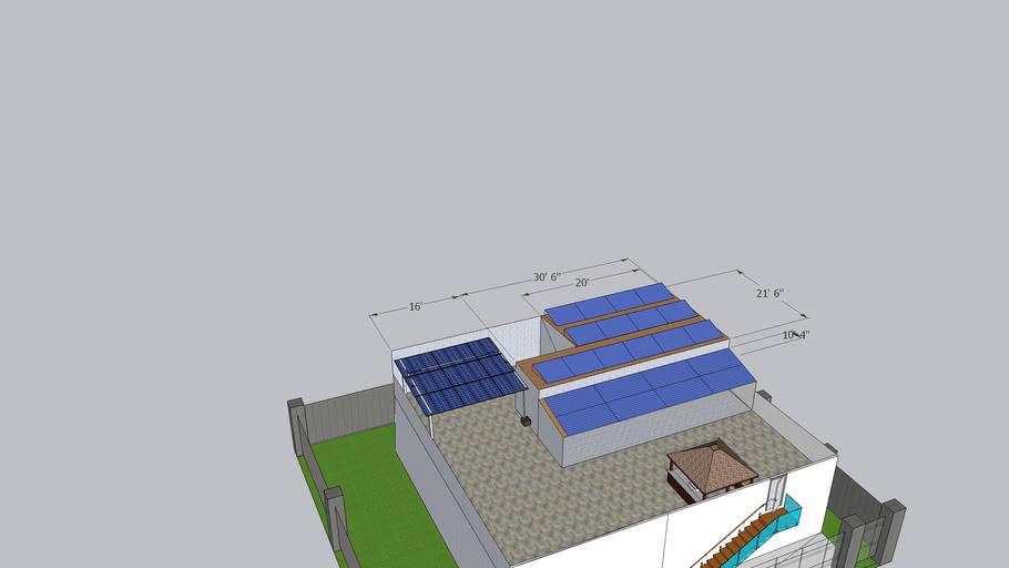 Saad Ahmad's House F-8 Islamabad - Raised Structure