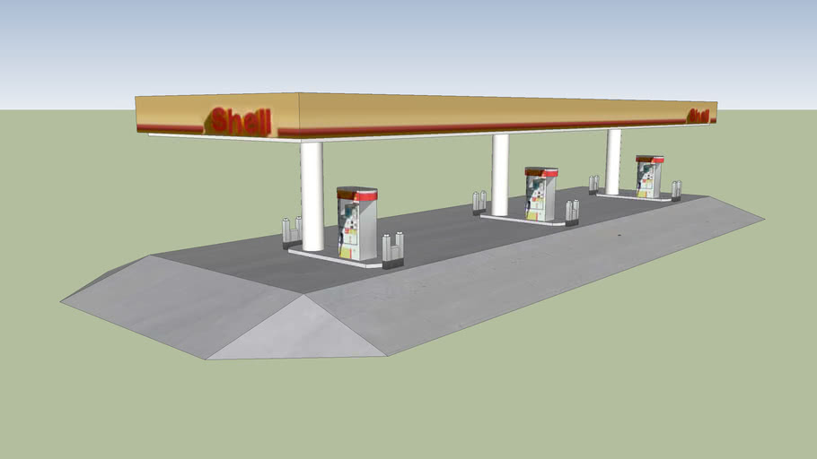 Petrol Station Pumps