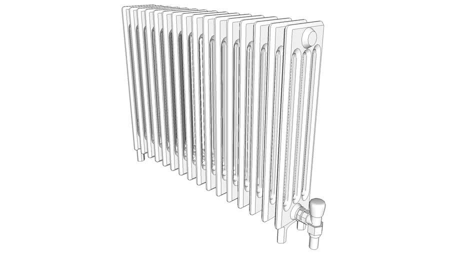 Radiator, cast iron, 4 column [DC]