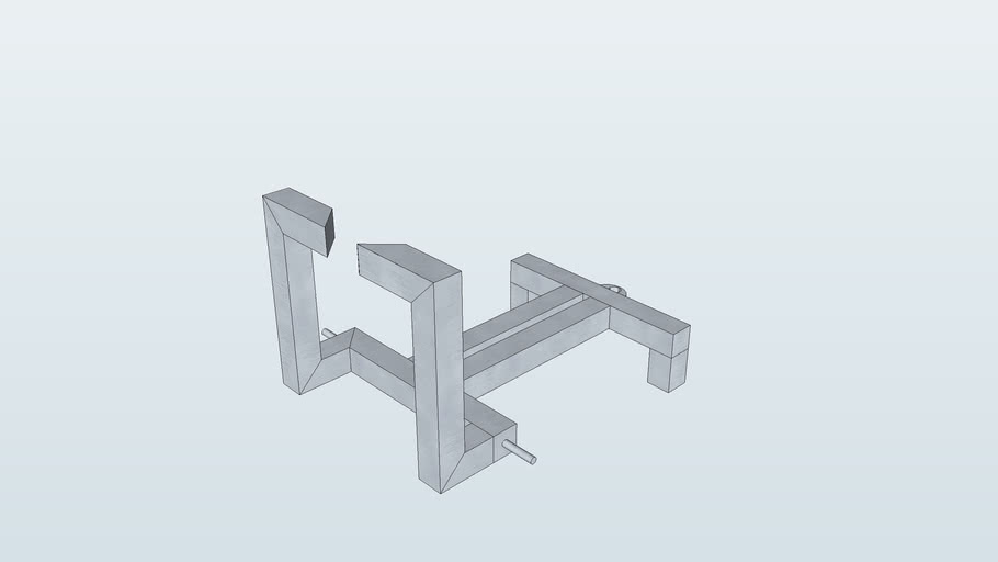 wakeskate winch frame