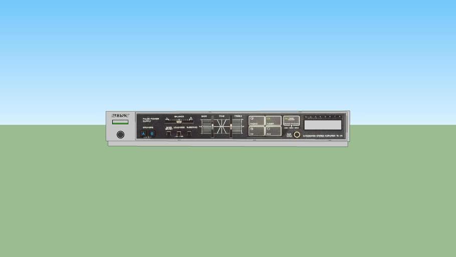 Sony graphic equalizer  (TA-V5)