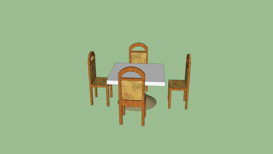 table and chairs (restaurant)