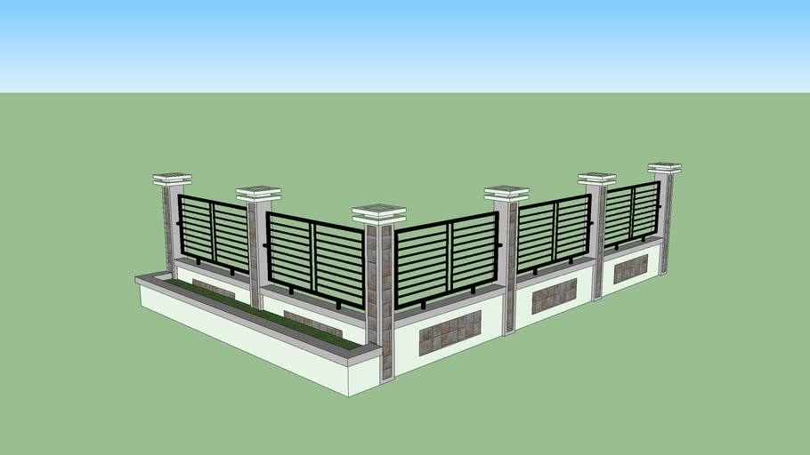 Fence (pagar) | 3D Warehouse