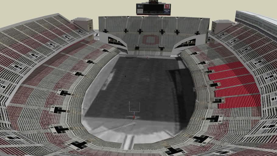 GO BUCKS ohio stadium THE HORSESHOE (read discription)