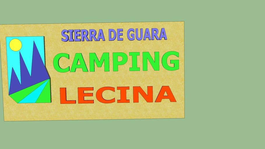 CARTEL CAMPING LECINA