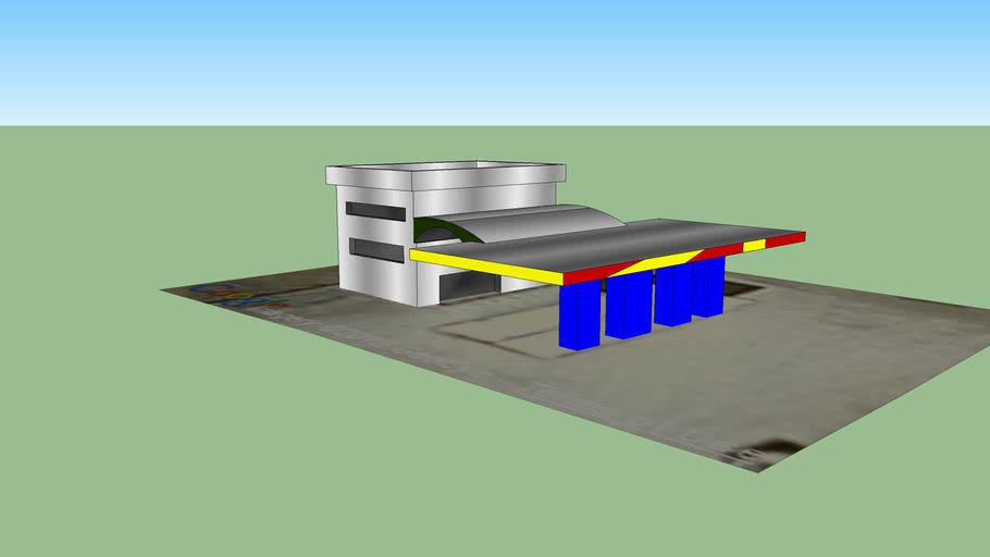 benzin istasyonu