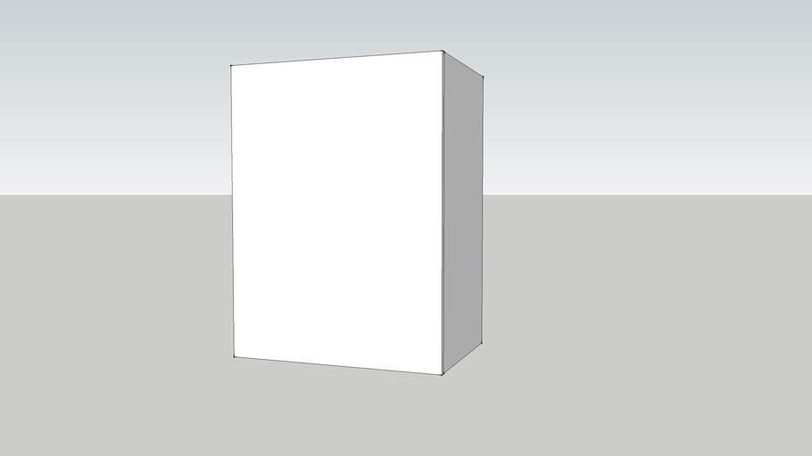 GZ 80 wall-w60 shelf-white