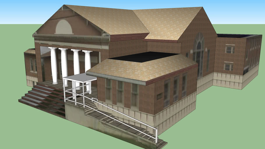 church at 1608 15th Street, Meridian, Mississippi