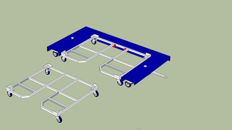 carrinho frame bidirecional