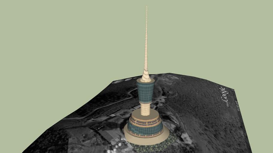 Shenzhen Wutong Mountain Radio Tower 深圳梧桐山信号塔