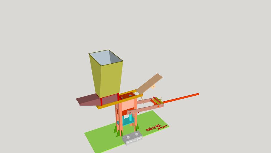 3d brick making machine