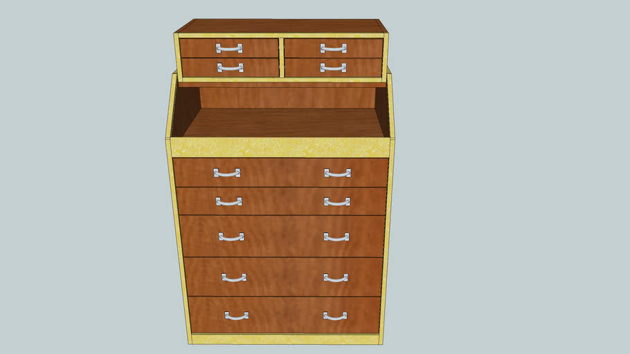 Slant Front Tool Chest