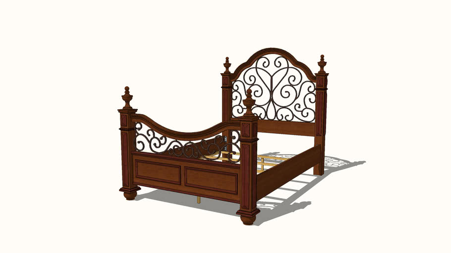 Honeoye Four Poster Bed