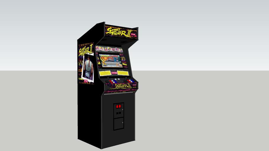 Street Fighter 2 The World Warrior Arcade Game 3d Warehouse