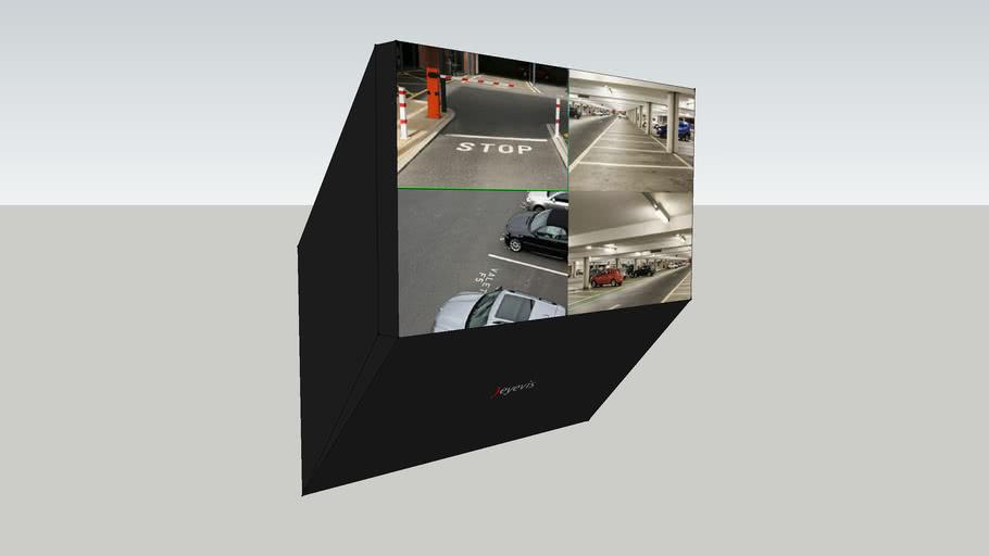 eyevis Slim DLP® Rear-Projection Cube, EC-70-LHD-SLIM