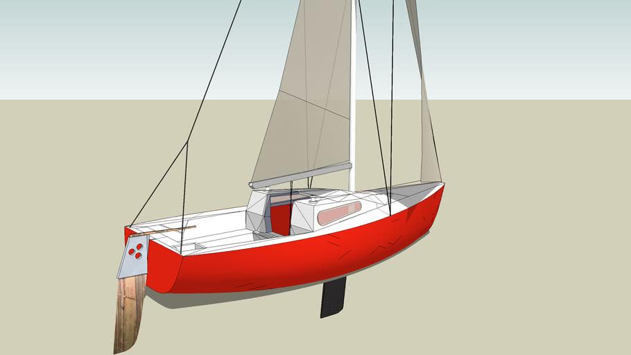 Sailboat Mark Stag 18
