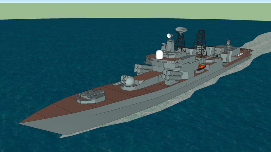 Russian Navy 1155A Destroyer Udaloy II, Admiral Chabanenko