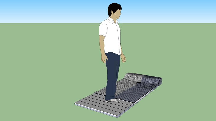Barcelona Acrilyc Shower tray 150x90 w/overflow kit 90