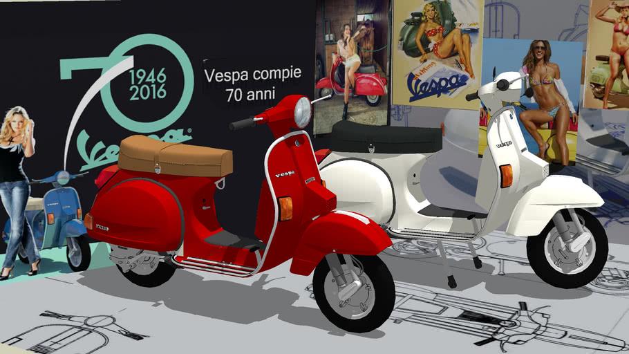VESPA  PX  125 - 150   PIAGGIO  -   LML  Star 200