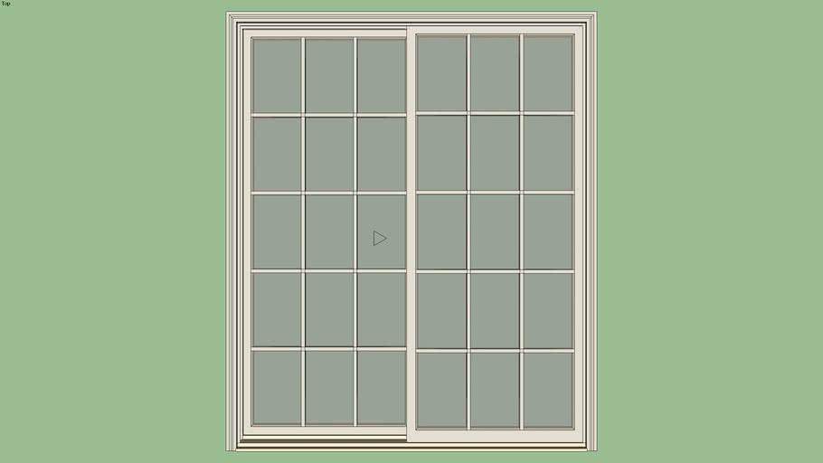 Marvin Elevate Sliding Patio Door 2-Panel