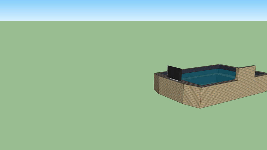 Hot Tub with Plasma And Waterfall