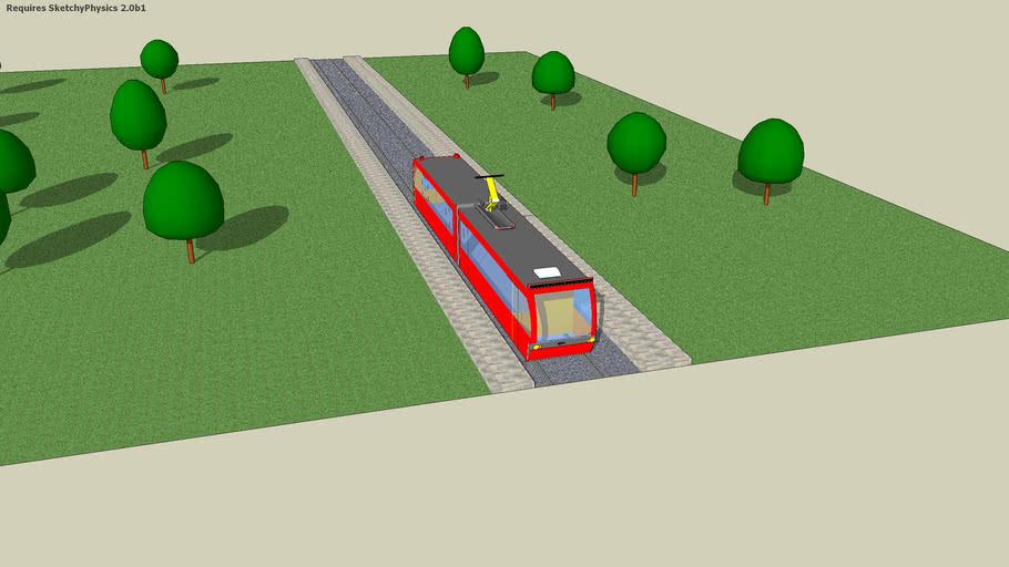 My first tram