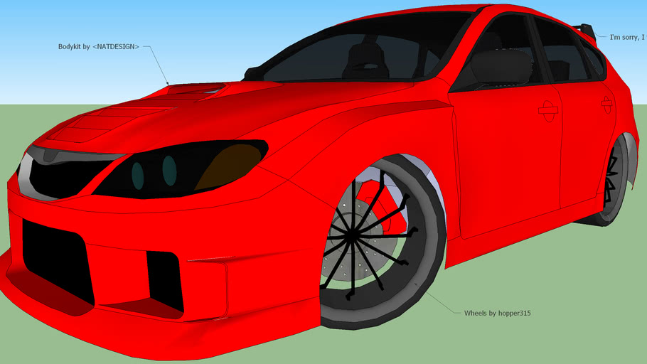 Tuned Subaru Impreza