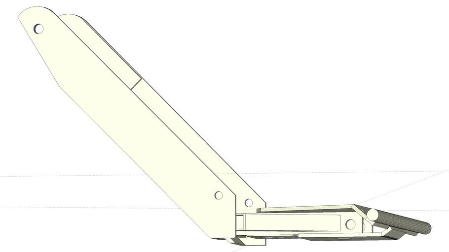 Honda RT5000 5013 Front Plow Frame