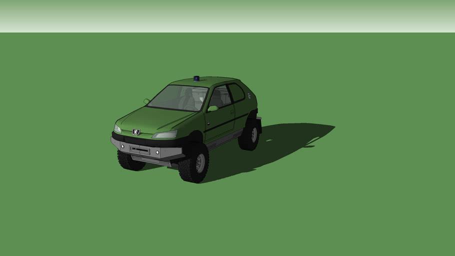 Peugeot 306 4X4 (fictional)