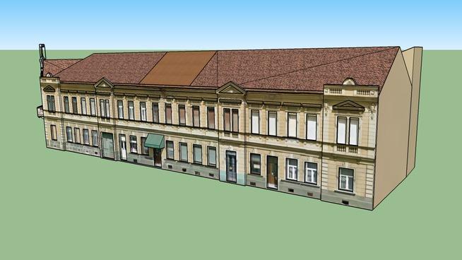 Rubinstein House, Osijek, Croatia