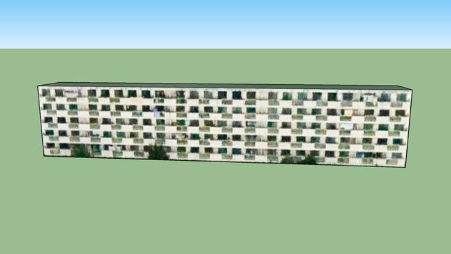 Bâtiment situé Sendai, Préfecture de Miyagi, Japon