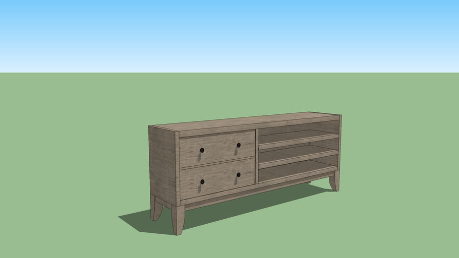 Transitional Console Table