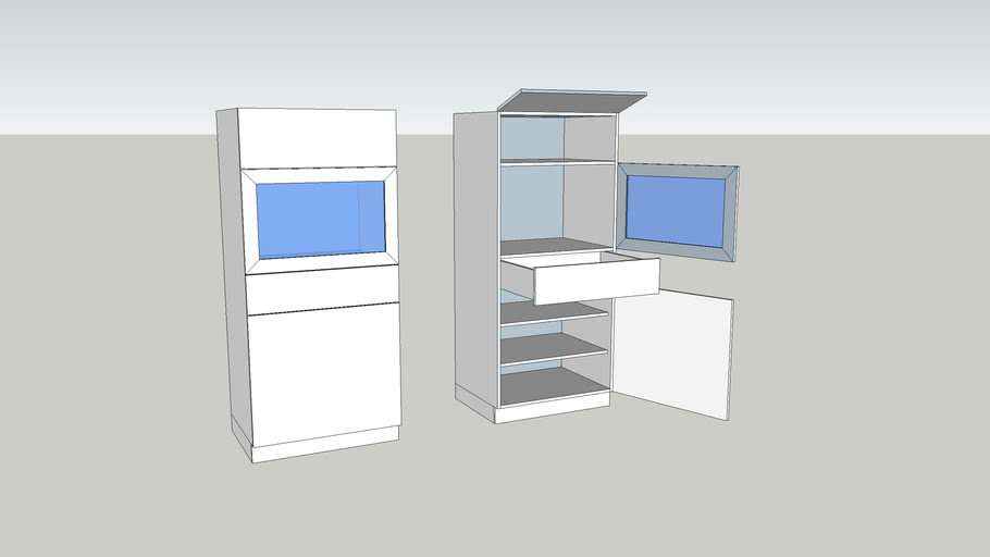 3D-Printer-Cabinet