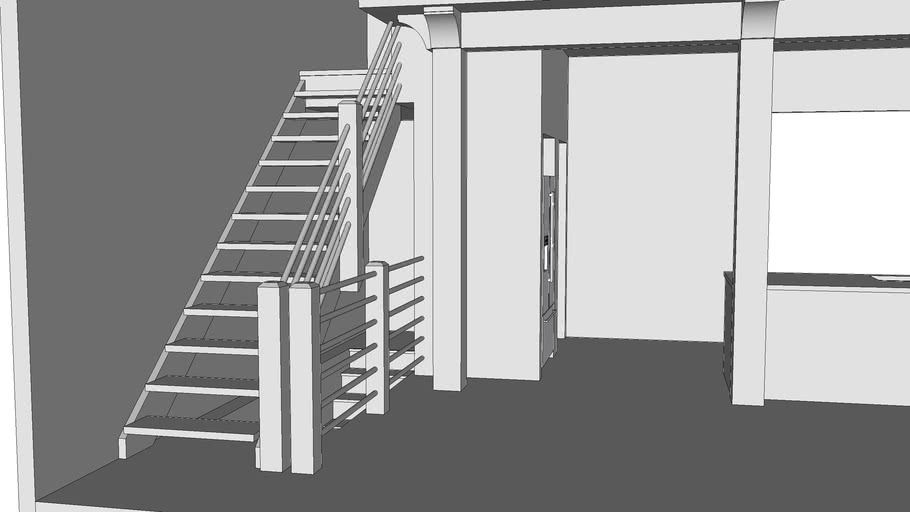 Hilltop Barn Stairs