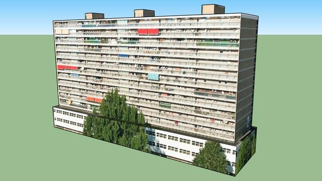 Budynek w: Amsterdam, Holandia