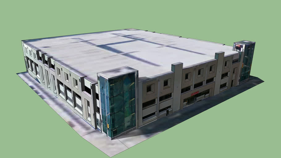 Rideau Centre parking garage | 3D Warehouse