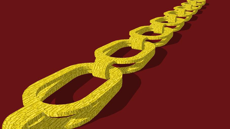 chain, gold, Kette, chaîne