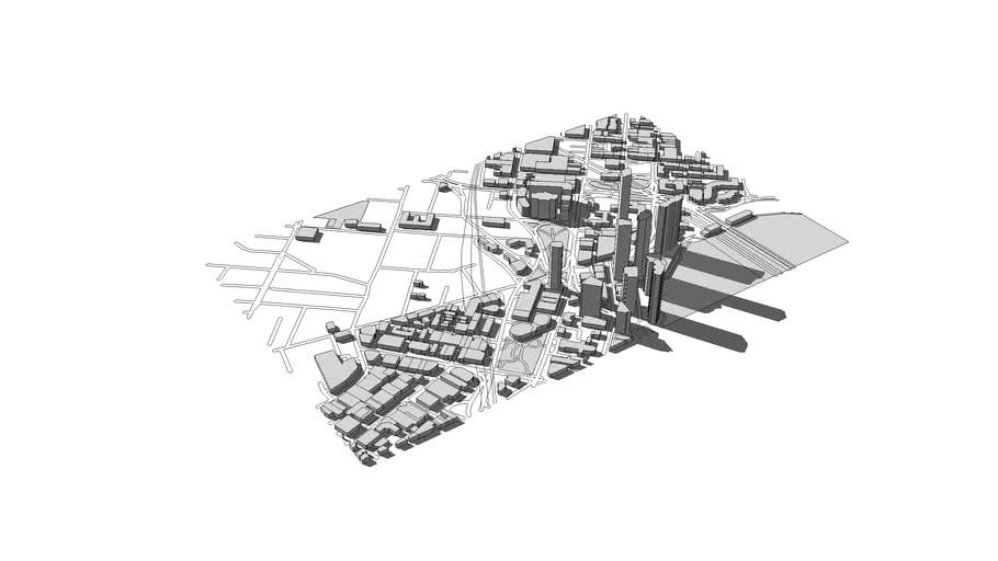 North Brisbane City Model