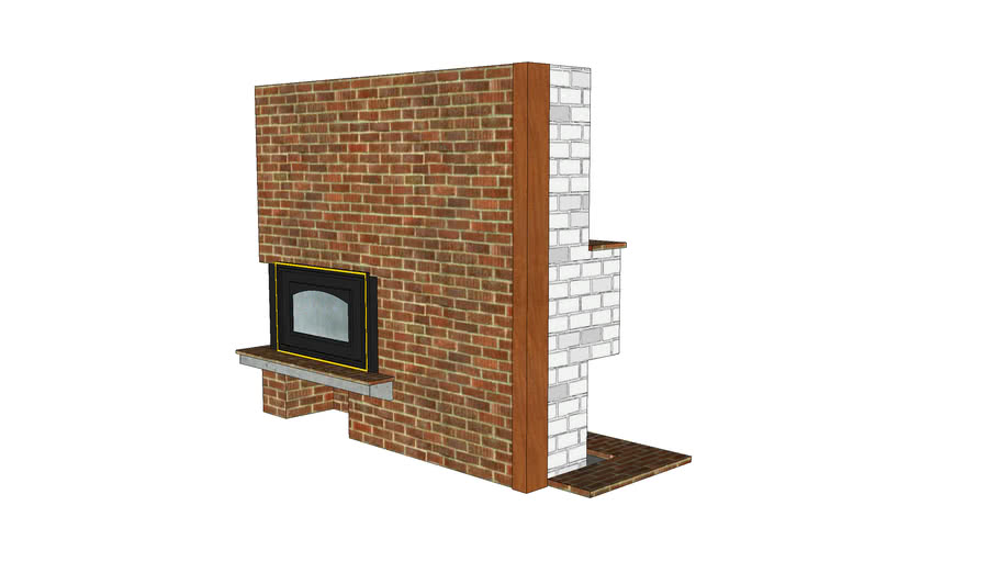 Island (Swedish) Fireplace
