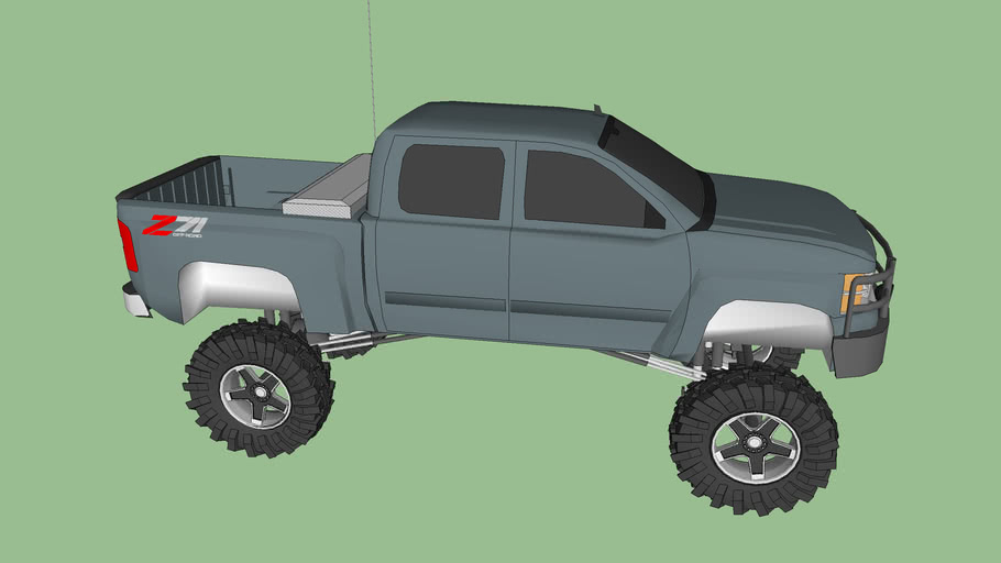 "2009 Chevy 1500 Z71 10"" Lift and 40's"