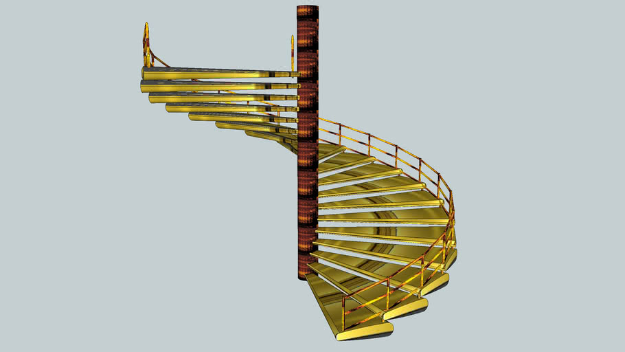 spiral Stairs floating